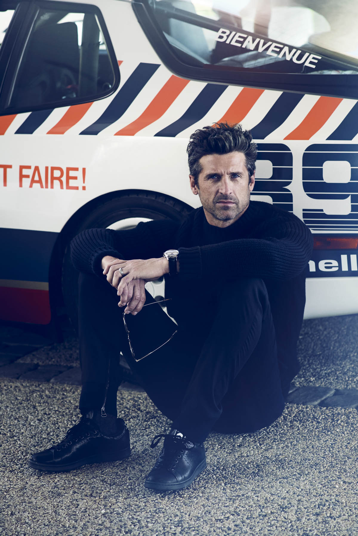 Patrick Dempsey for Intersection FR © Robert Wunsch 2016