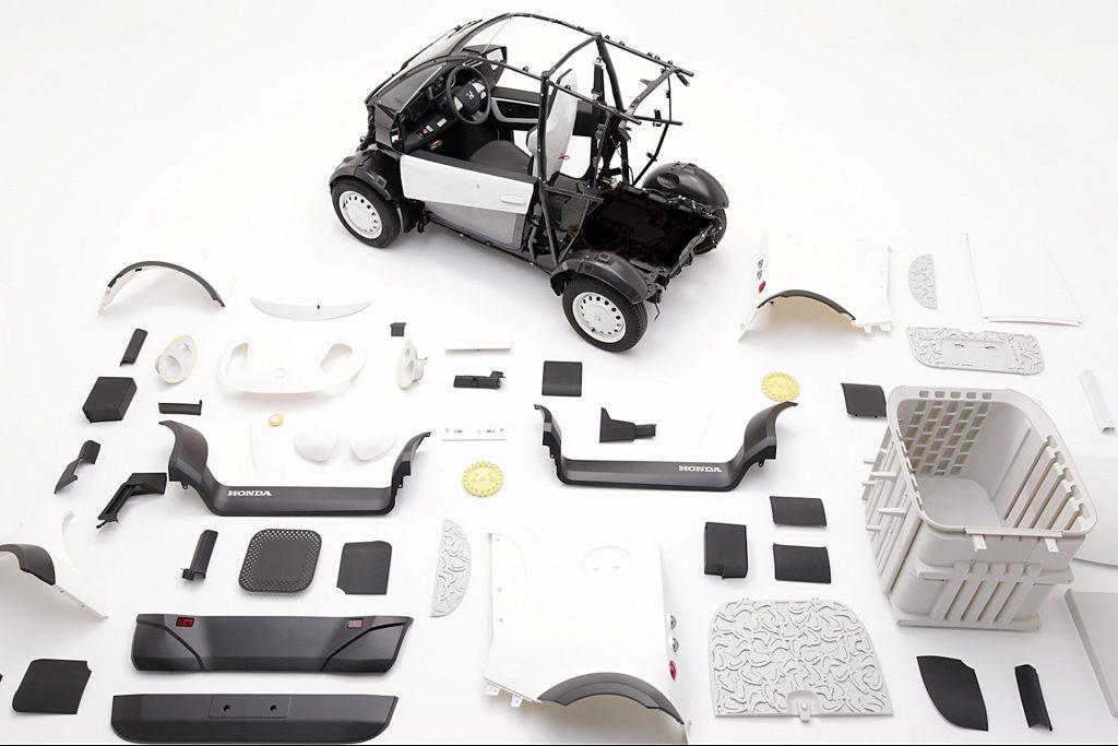Kabuku-Honda 3DPrintCar