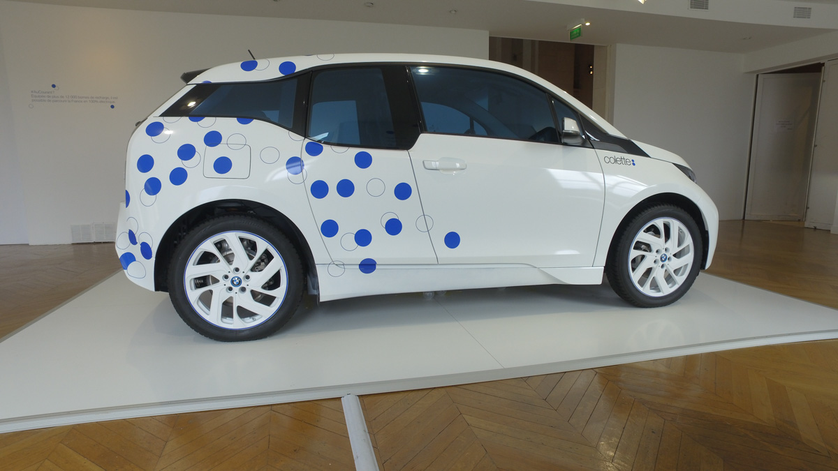 BMW i3 colette Arts decoratifs