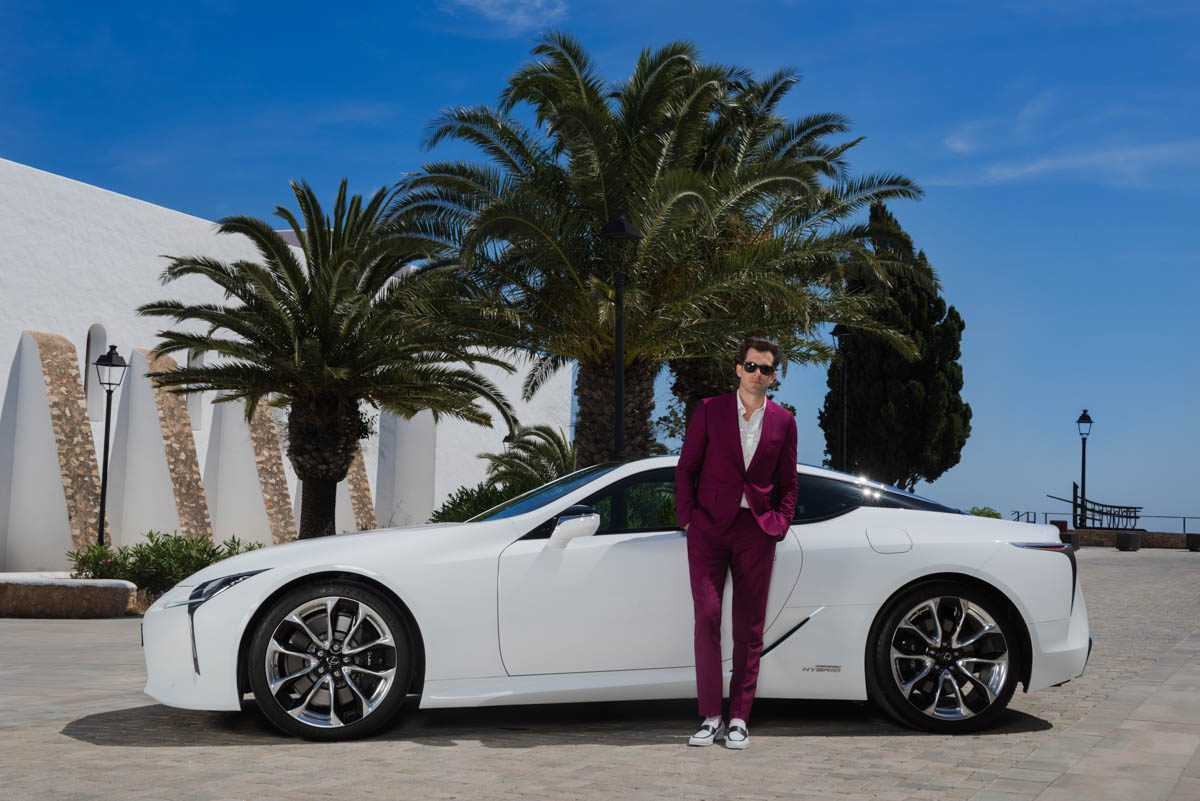 Lexus LC Make Your Mark - Mark Ronson Drive 1