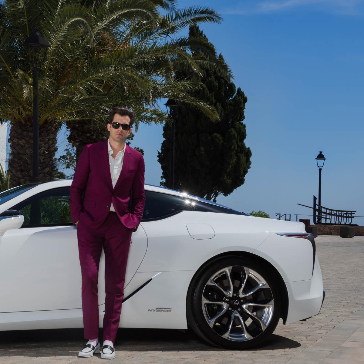 La Lexus LC fait ses Mark