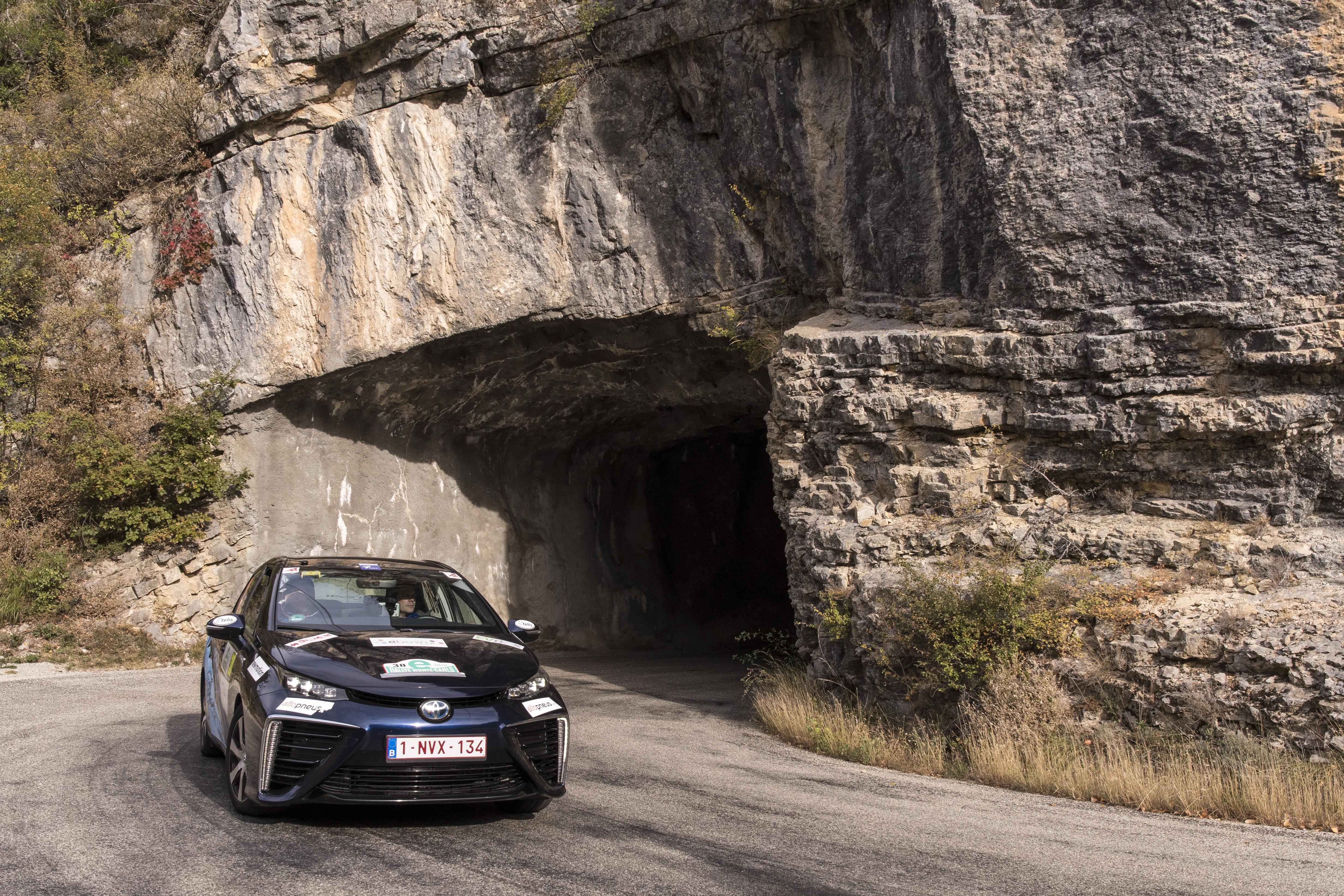 E-Rallye Monte-Carlo en Toyota Mirai