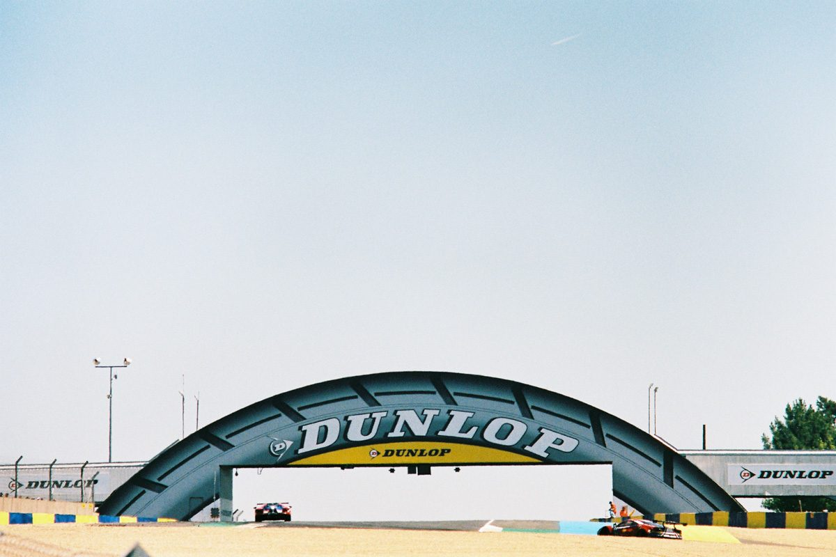 Intersection Magazine analog le mans dunlop ford gt